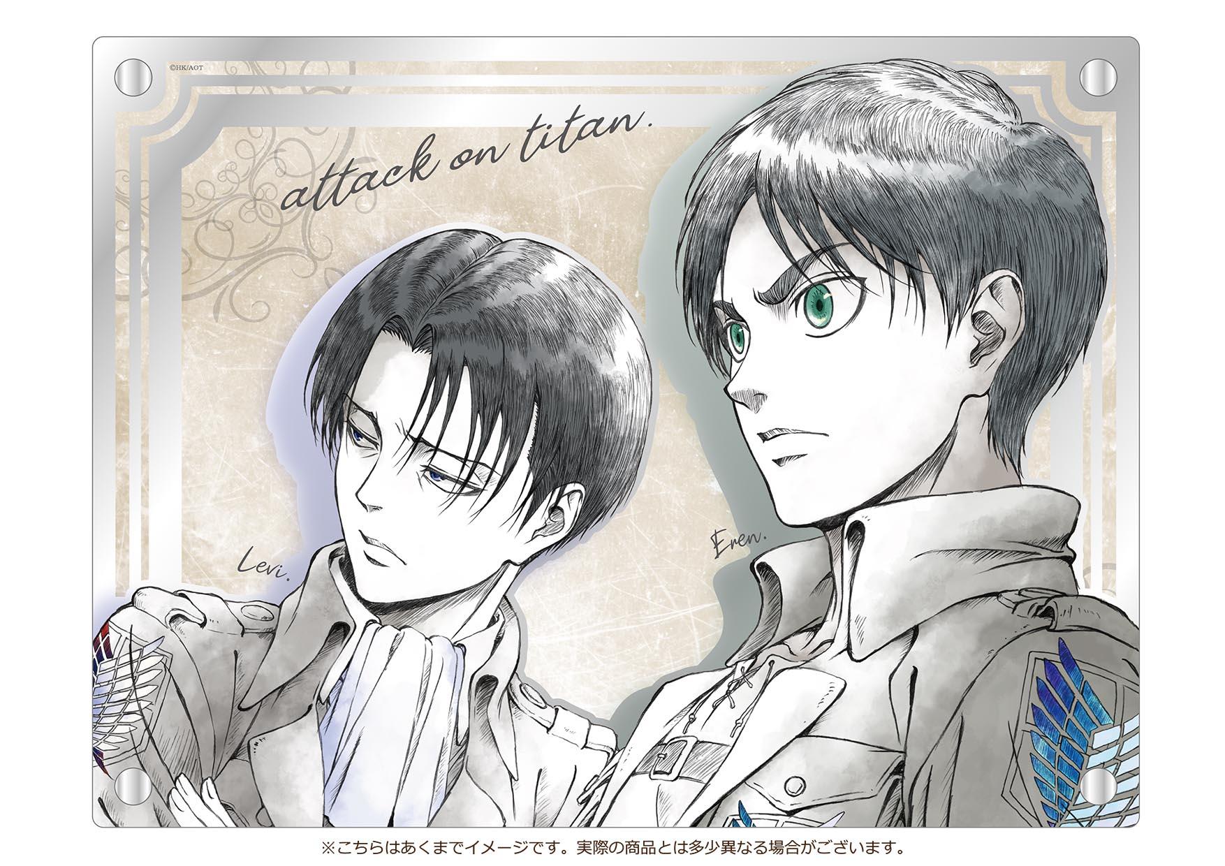 「進撃の巨人」からアクリルアートが期間限定で発売!
